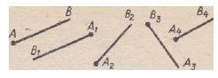 Система геометрических задач, решаемых с применением векторов.